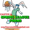 Easter Weekend + LEAGUE forms URGENT