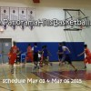 Panorama HIlls Basketball schedule week April 27-May 02