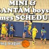 Spring League games Schedule