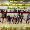 Basketball tournament June 03 + PLAY-OFF games June 04
