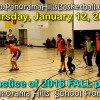 BASKETBALL practice: January 12 2017