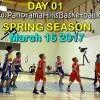 2017 Basketball Season -Thursday, March 16 * day 01 *