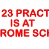 May 23 practice-@ St JEROME SCHOOL