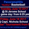 Basketball practices June 13 @ St Jerome School + June 16