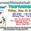 Basketball tournament Friday June 16 @ Capt Nichola School