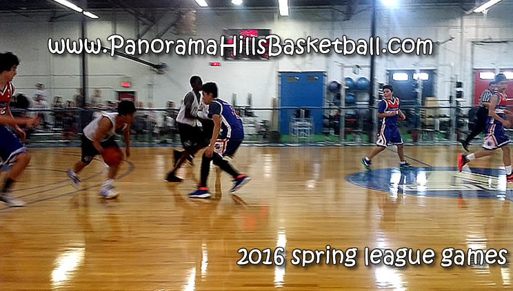 panorama hills stars spring league games