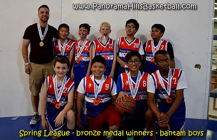 Bronze medal Winners - Panorama Stars - bantam boys
