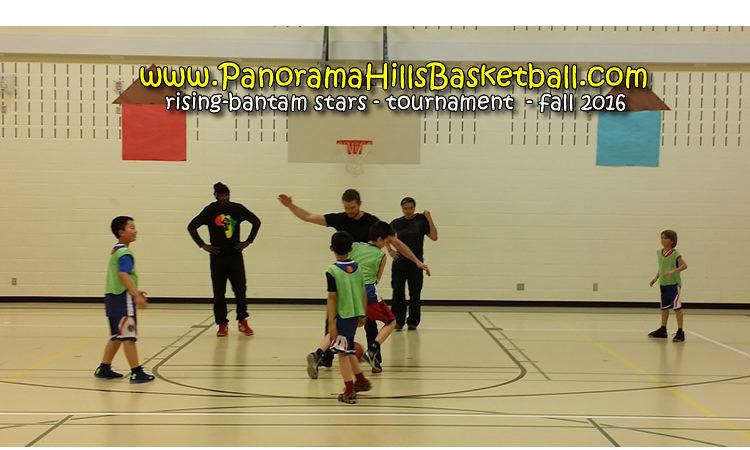 panorama hills basketball tournament - rising-bantam stars