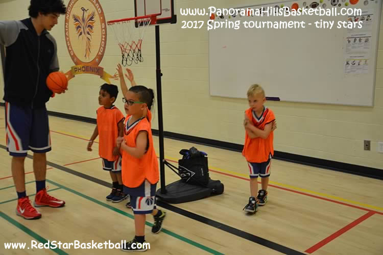 Panorama hills red star  basketball for kids