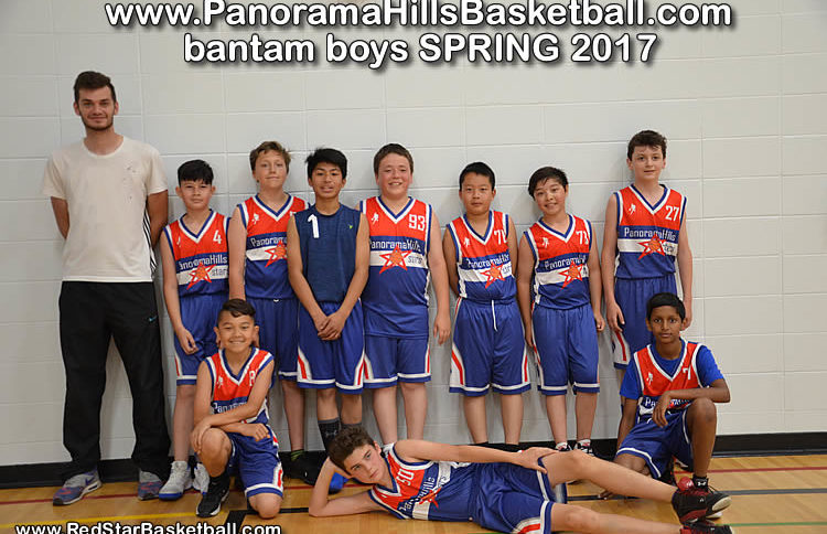 bantam boys red star - panorama hills basketball