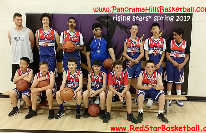 red star panorama hills basketball teams