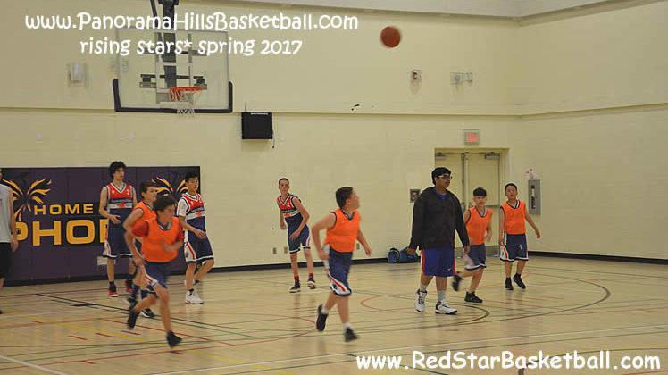 red star panorama hills basketball bantam teams