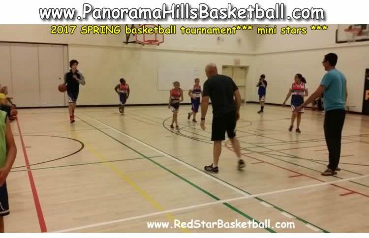 panorama hills red star basketball mini stars
