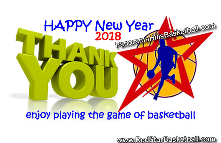 Happy new YEAR - PanoramaHills/RedStar basketball
